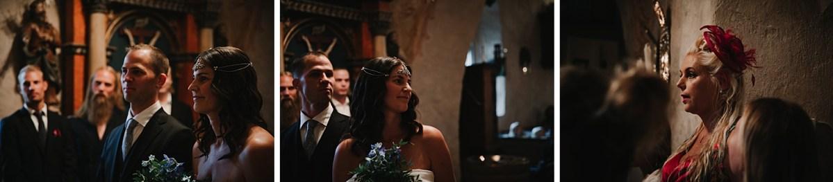 bohemiskt bröllop bröllopsfotograf västra götaland i kyrkan wedding photographer bohemian wedding Sweden