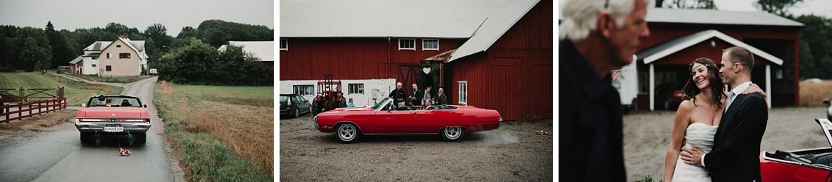 bohemiskt bröllop bröllopsfotograf västra götaland bröllops fordon wedding photographer bohemian wedding Sweden car