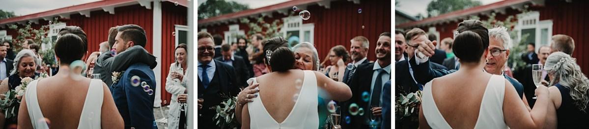 Bröllopsfotograf Göteborg Stora Holms Säteri vigsel wedding photographer Sweden