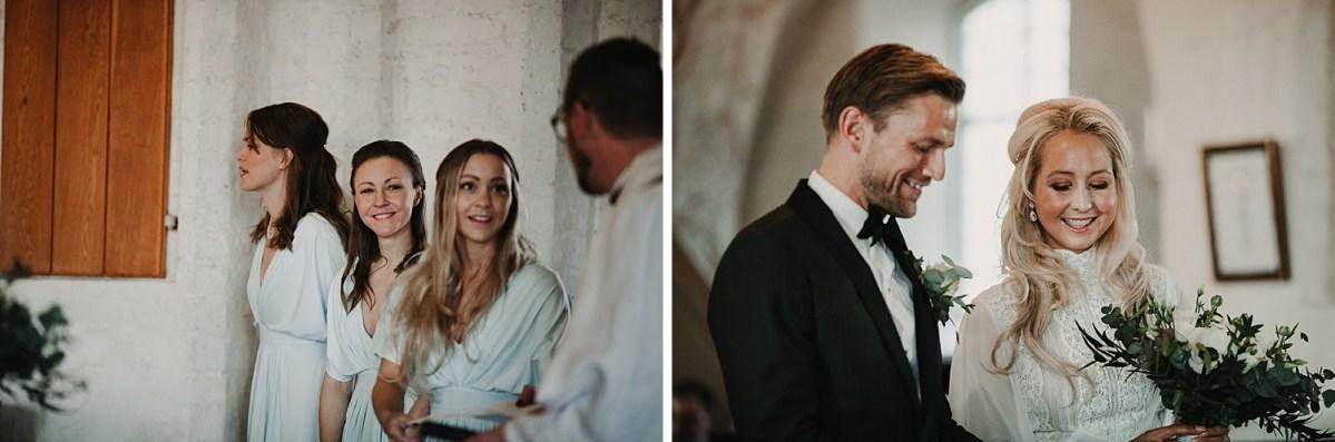 Vigsel Maria Kyrkan Båstad Bröllopsfotograf Skåne wedding photographer Sweden Ceremony