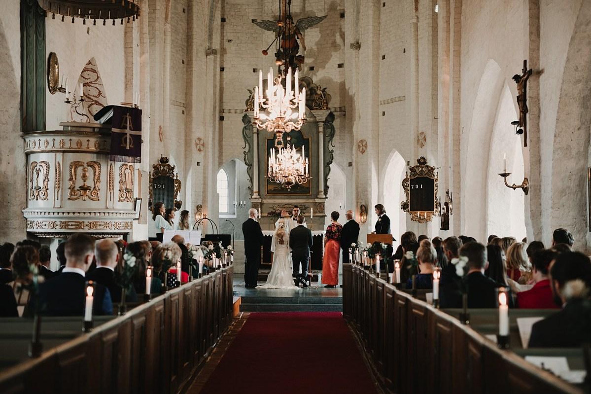 Bröllop Maria kyrkan Båstad Bröllopsfotograf