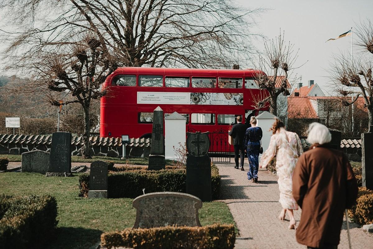Buss mot Norrviken bröllopsfotograf Skåne