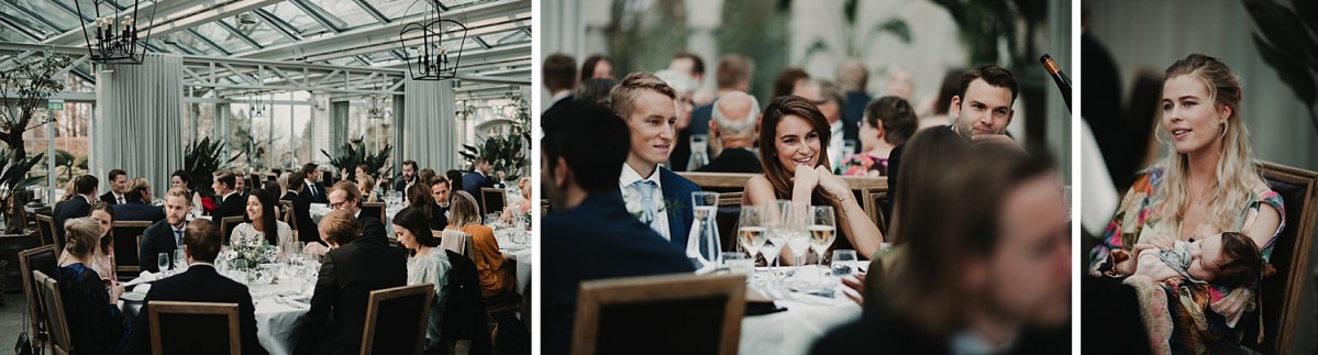 Middag Fest på underbara Norrvikens Trädgårdar Bröllopsfotograf Skåne