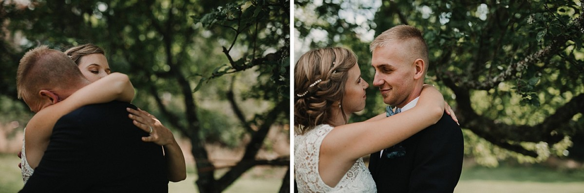 wedding portraits wedding couple wedding hairstyle pearls