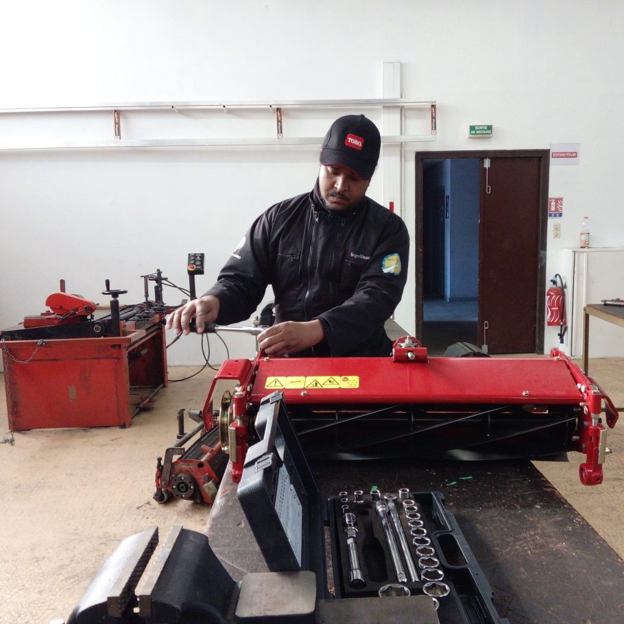 BP agroéquipement conduite et maintenance des matériels de golf