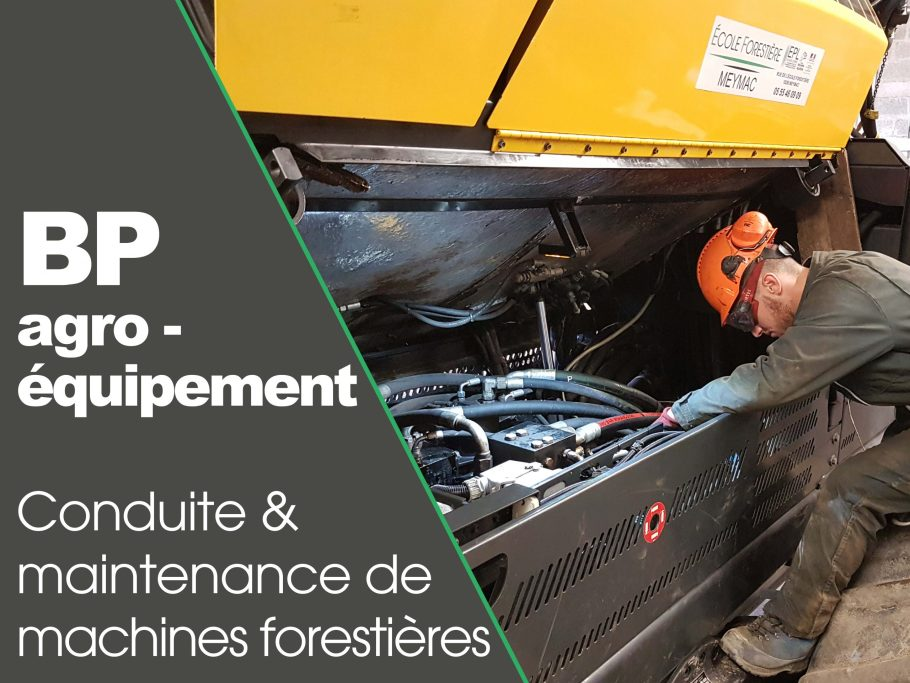 CFPPA formation BP agroequipement foret