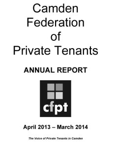 CFPT Annual Report 14