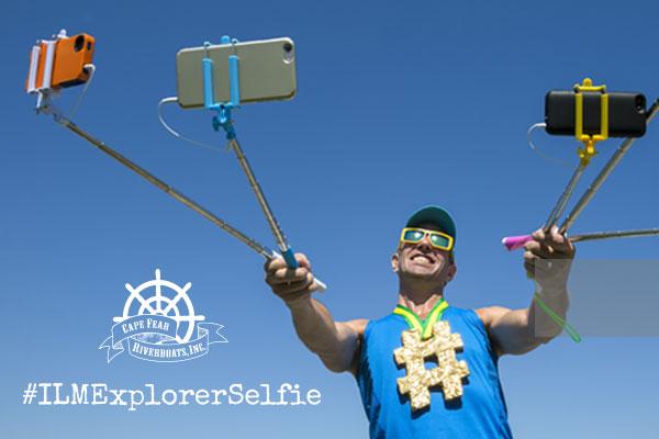 Wilmington's Epic Explorer Selfie Challenge #ILMExplorerSelfie