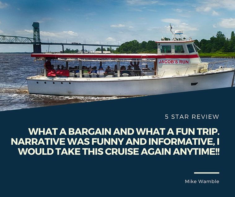 Reviews - Cape Fear Riverboats