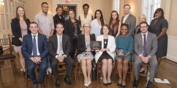 CFR awarded health and wellness Golden Apple Award by United Healthcare.