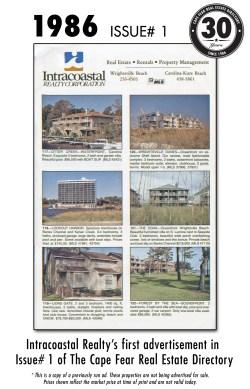 1986 Issue# 1 - Intracoastal Realty