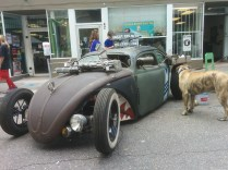 This unconventional motor vehicle, not found at most dealerships, is one of many unusual sights at OneSpark Saturday.