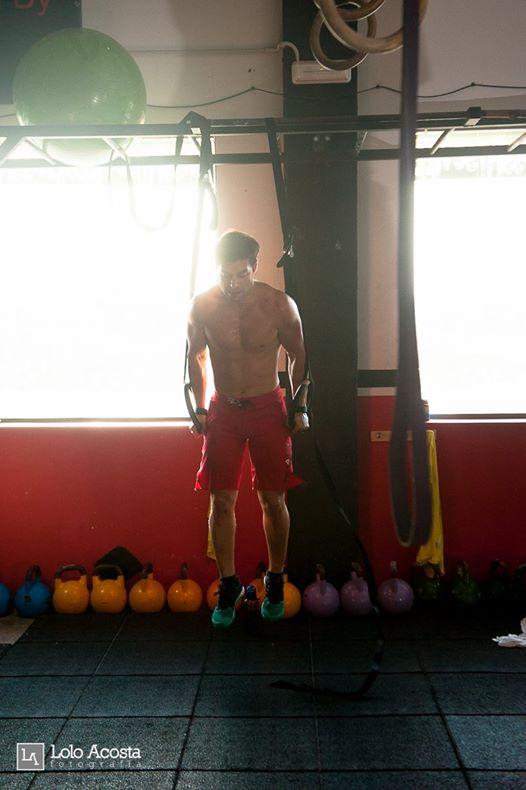 Wod CrossFit Sevilla Ring Dips