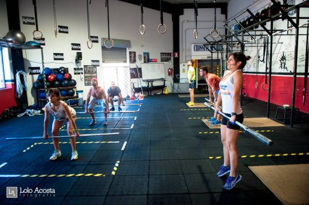 Wod CrossFit Sevilla CFS mañana