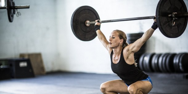 Wod CrossFit Sevilla Girl Barra halterofilia