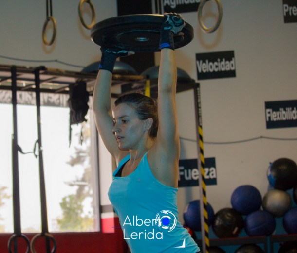 Wod CrossFit Sevilla Girl Training Disco