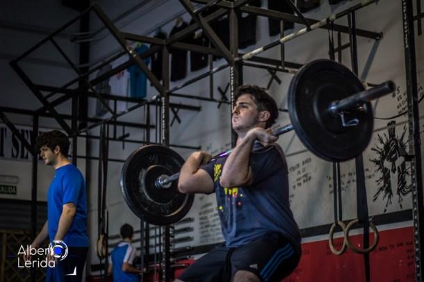 Wod CrossFit Sevilla clean and jerk