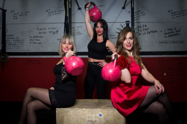 Wod CrossFit Sevilla Soul Girls kettlebells