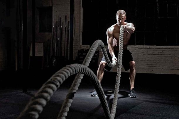 Wod CrossFit Sevilla Battle Rope