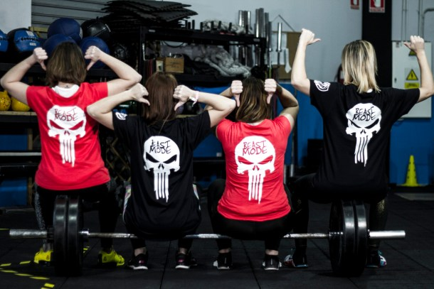 Wod CFS Box CrossFit Sevilla Beast Mode
