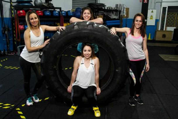 Wod CFS Box CrossFit Sevilla Girls Neumatico