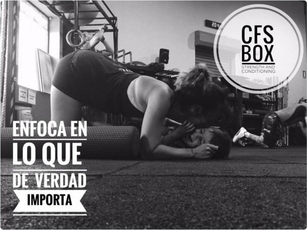 Wod CFS Box CrossFit Sevilla training Halterofilia enfoca en lo importante