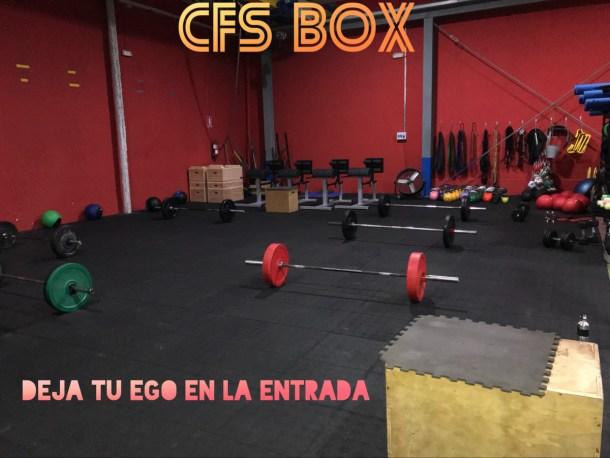 Wod CFS Box CrossFit Sevilla training leones ego
