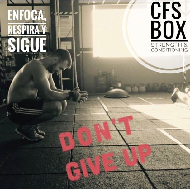 Wod CFS Box CrossFit Sevilla training enfoca respira sigue