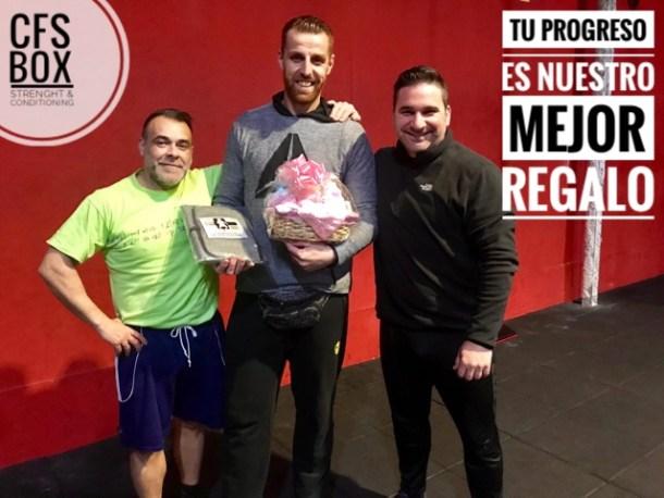 Wod CFS Box CrossFit Sevilla training coach regalo