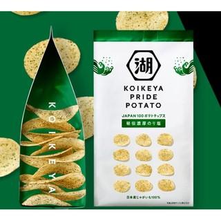 日本湖池屋 koikeya pride potato洋芋片 的拍賣價格 - 飛比價格