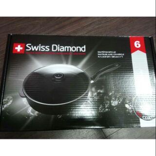 深煎鍋 28CM SWISS DIAMOND 的拍賣價格 - 飛比價格