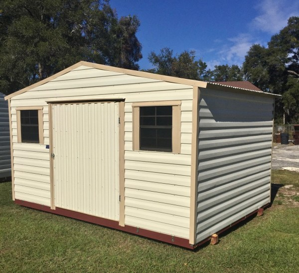10x14 Shed - Central Florida Steel Buildings And Supply