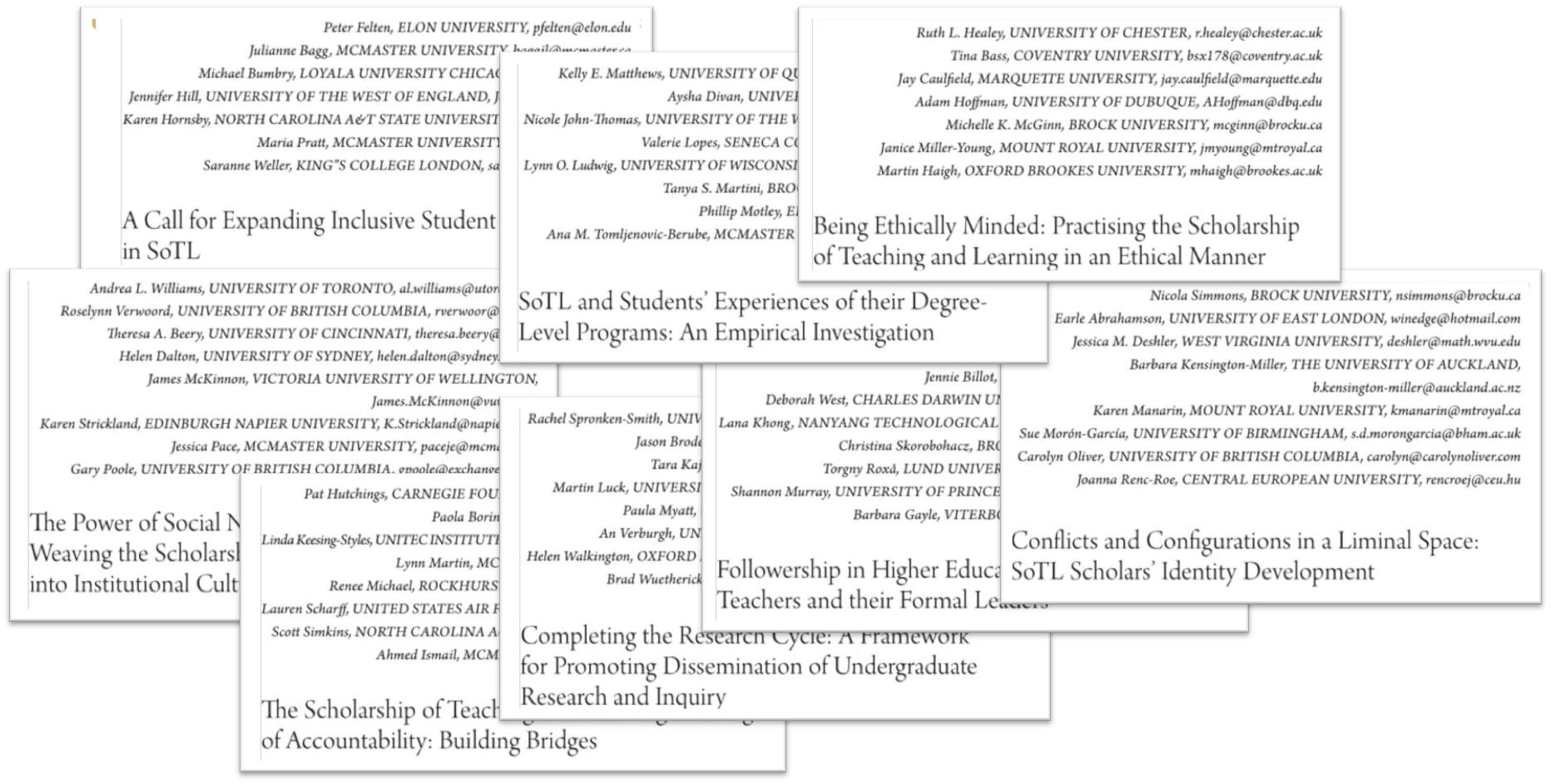 About The Teaching & Learning Inquiry Journal Center For Teaching