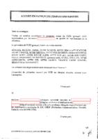 Senior Agreement (FR)