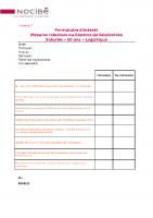 007 – Annexes 2 et 3 – Formulaires d'intérêt Ct génération – logistique