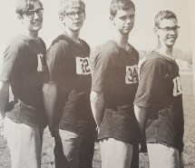 1967 Mile Relay Team