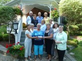 Presentation of Cheque from 2015 Garden Tour