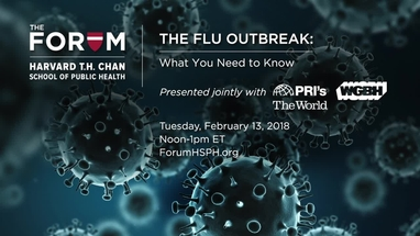 The Flu Outbreak   The Forum at Harvard T. H. Chan School of ...