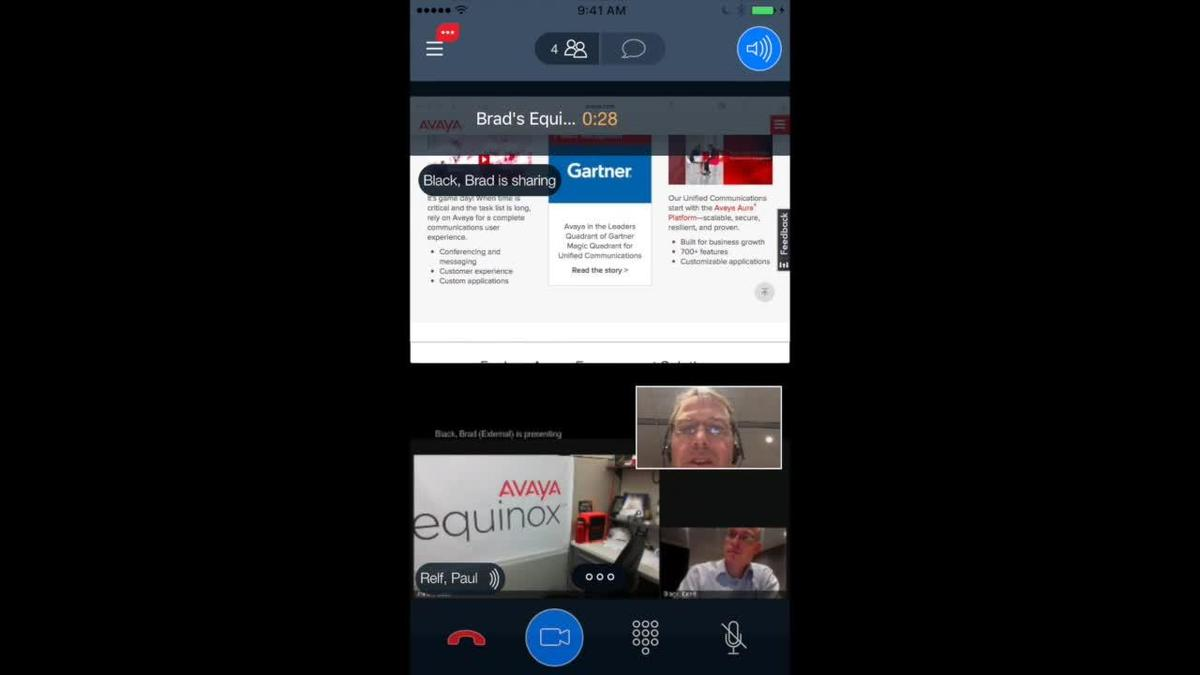 Avaya Equinox on Mobile Devices | Mobile-First Experience | Avaya TV