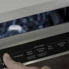 Kitchen Aide Dishwasher Storage Unit Advanced Prodry System Appliance Science Kitchenaid Video Thumbnail For