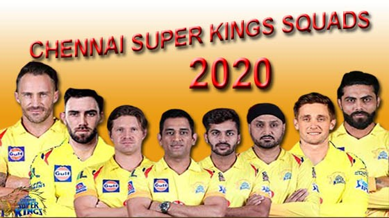 chennai super kings squads