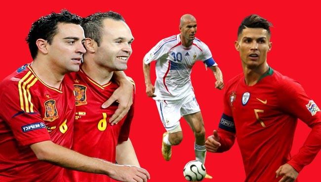 Greatest football midfielders