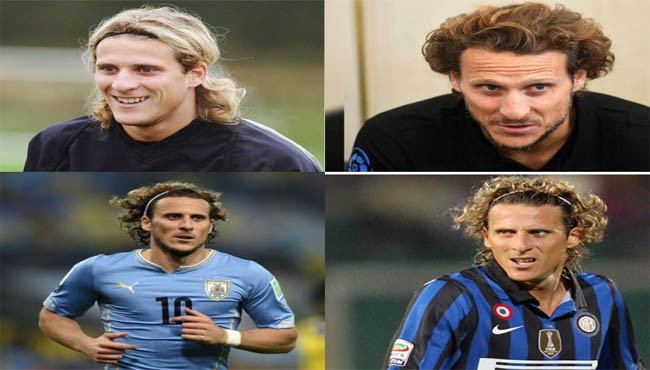 Diego Forlan hairstyle and haircut