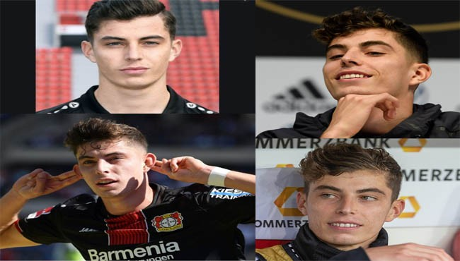 Kai Havertz haircut hairstyle