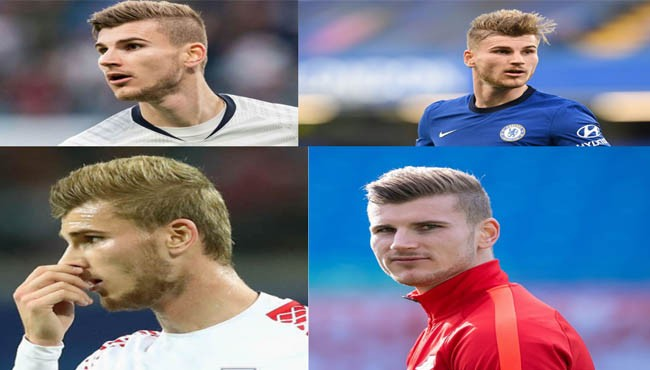 Timo Werner haircut hairstyle