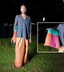 Kasun Gunawardana in shirt from Banana Republic; pants, sourced from Thailand; bag, sourced from Bombay.