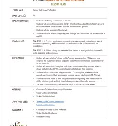 College and Career Planning English Curriculum Toolkit   CFWV Resources [ 3300 x 2550 Pixel ]