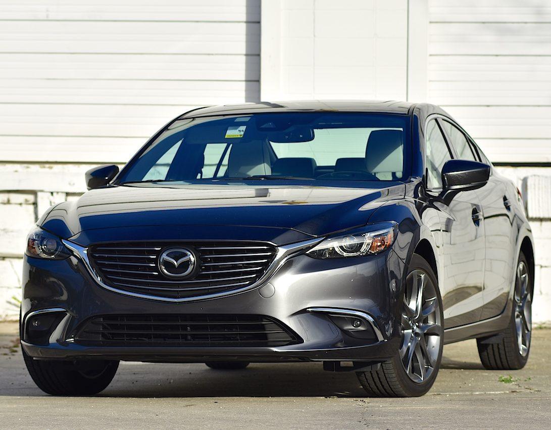 hight resolution of midsize sedans