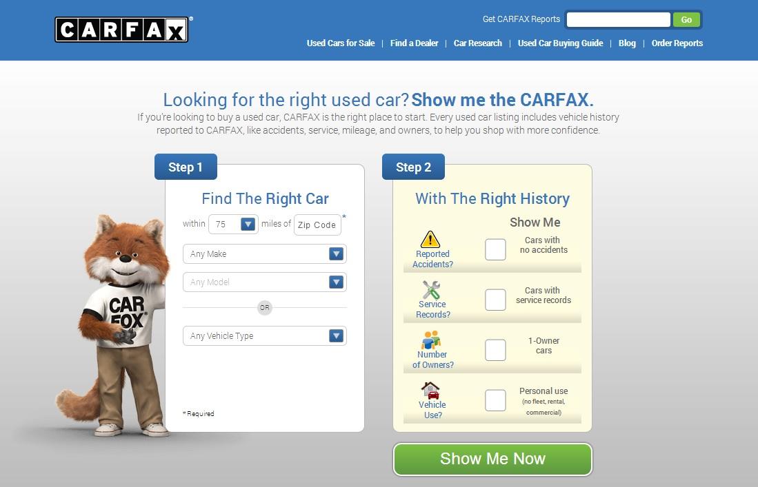 Carfax Makes Car Shopping A Breeze  Carfax