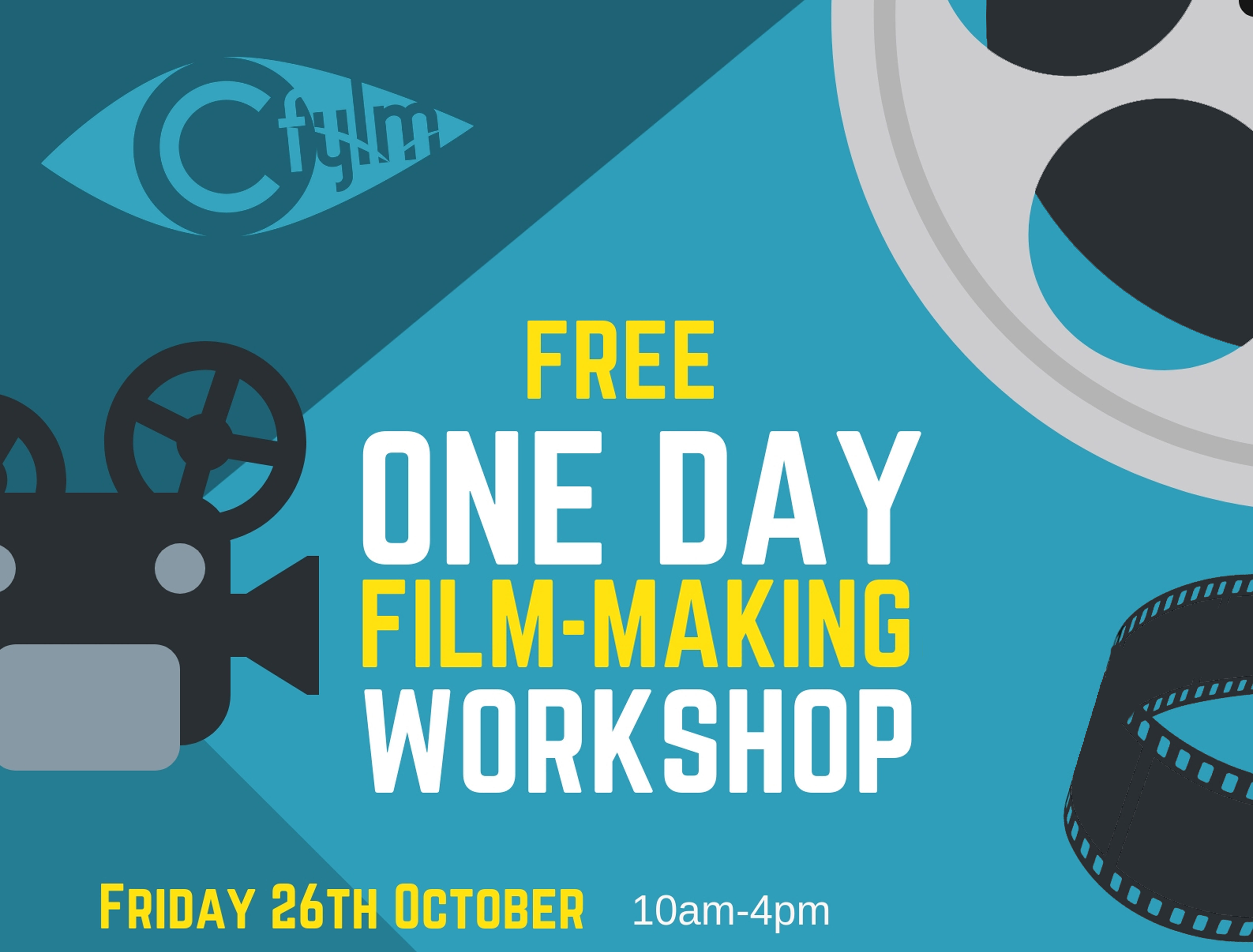 Free film making workshop – you're invited!